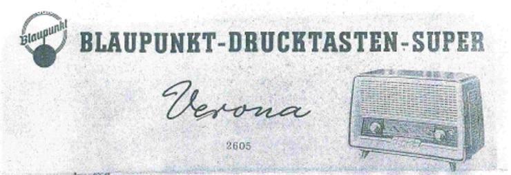 Gezocht hulp bij reparatie Blaupunkt Verona