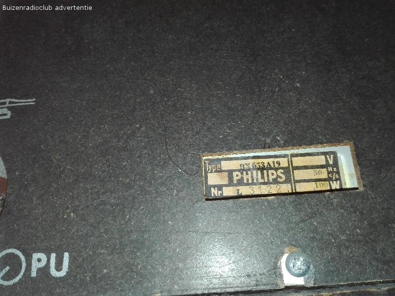 Hulp gezocht bij herstellen buizenradio BX653A19