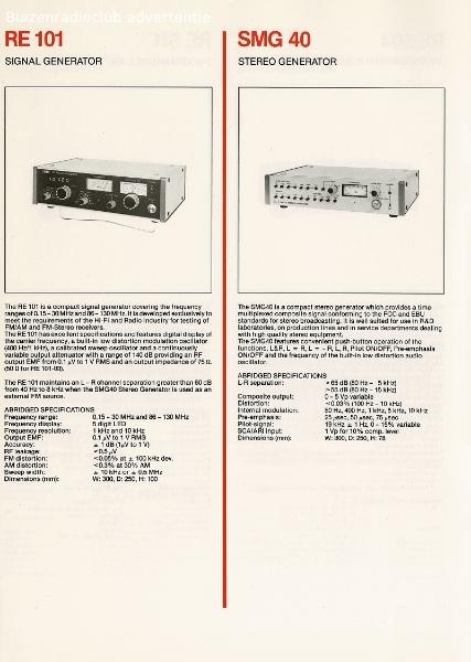 Radiometer Electronics