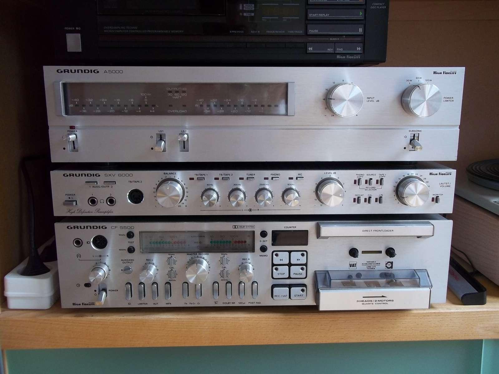 Moderne Muziek Woonkamer : Moderne vintage hi fi aansluiten op een tablet buizenradioclub